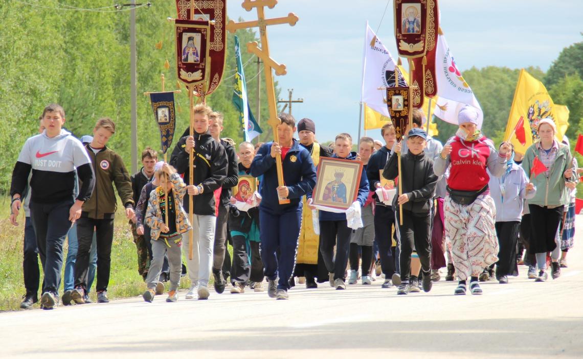 Миссионерский крестный ход «Наследие Святой Руси», Челябинская епархия, август 2019