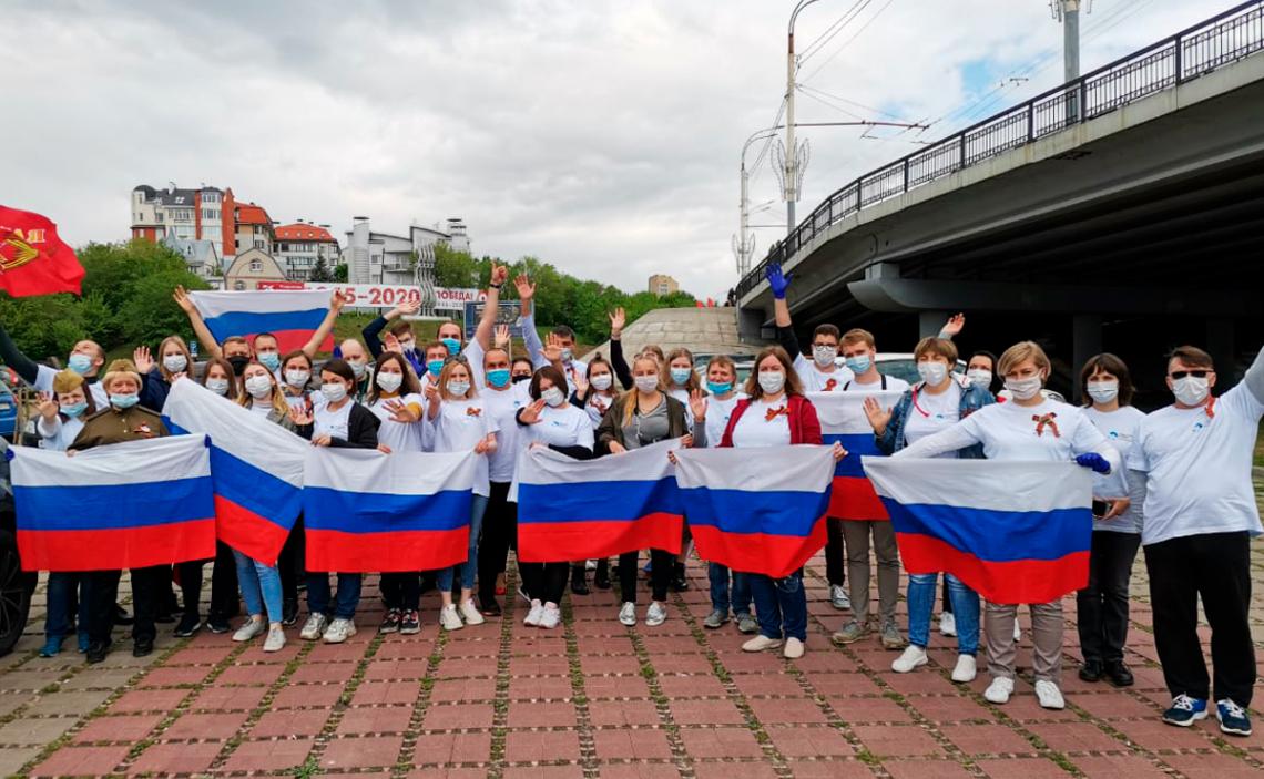 Акция поздравления ветеранов в Воронеже