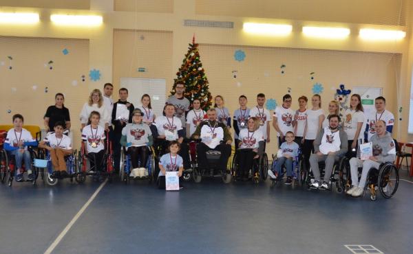 В Воронеже провели первый Рождественский турнир по бочча – паралимпийскому виду спорта