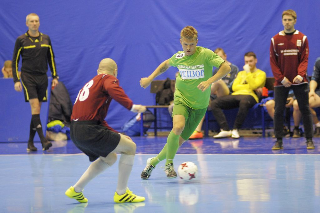 8 января в Санкт-Петербурге прошел XIX рождественский турнир Межприходской футбольной лиги имени святого Александра Невского