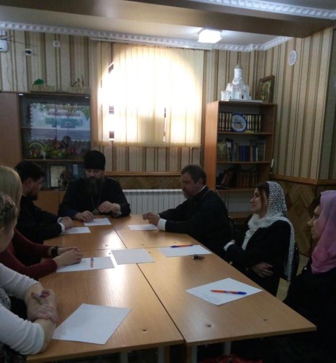 10 февраля в Армавире состоялось собрание  молодежного Совета отдела по делам молодежи Армавирской епархии