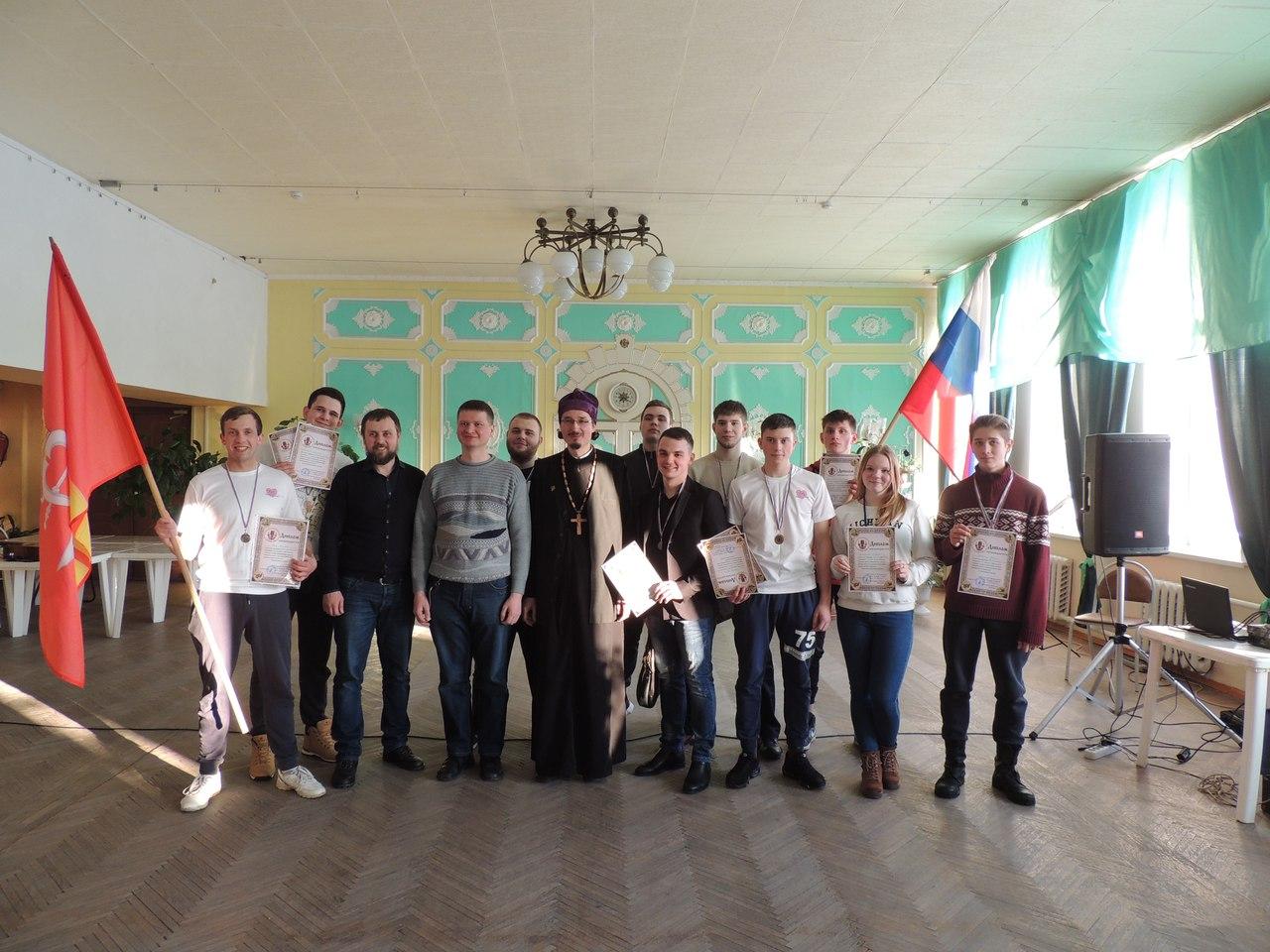 13 февраля в Александровской епархии прошел Сретенский турнир среди молодежных команд приуроченный к празднованию Дня православной молодежи