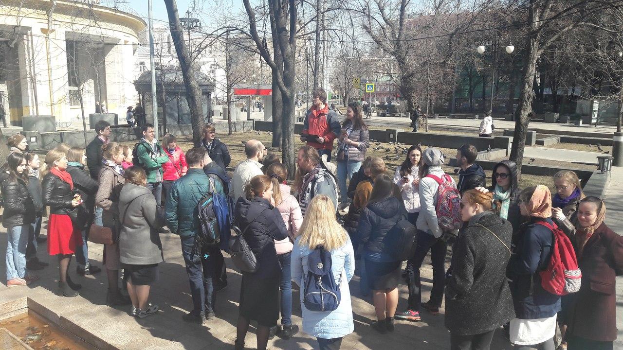 14 апреля в Москве прошел пасхальный Крутецкий квест