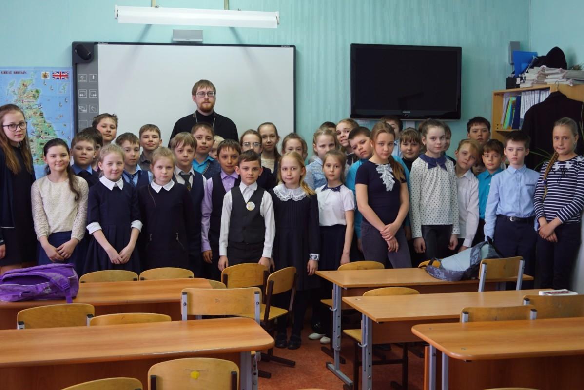 15 мая в Прогимназии № 63 Кургана прошел открытый урок «Возникновение и развитие письменности на Руси»
