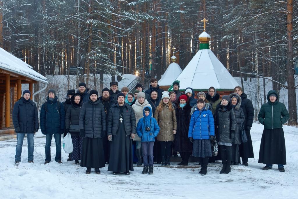 24 ноября состоялся I Молодежный форум Курганской Митрополии на территории Свято-Казанского Чимеевского мужского монастыря