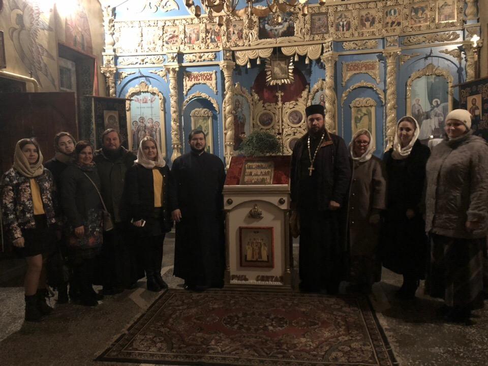 В Ливенской Епархии состоялась молодёжная ночная Божественная Литургия.