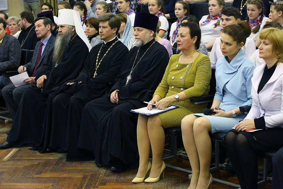 11 декабря протоиерей Кирилл Сладков принял участие в Нижегородских Рождественских чтениях «Молодежь: свободный выбор и ответственная гражданская позиция»