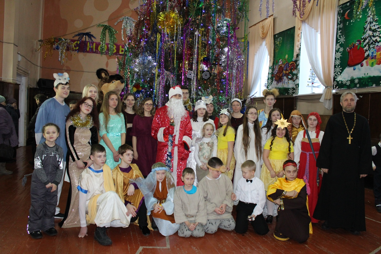 Светлый праздник Рождества в селе Кулунда