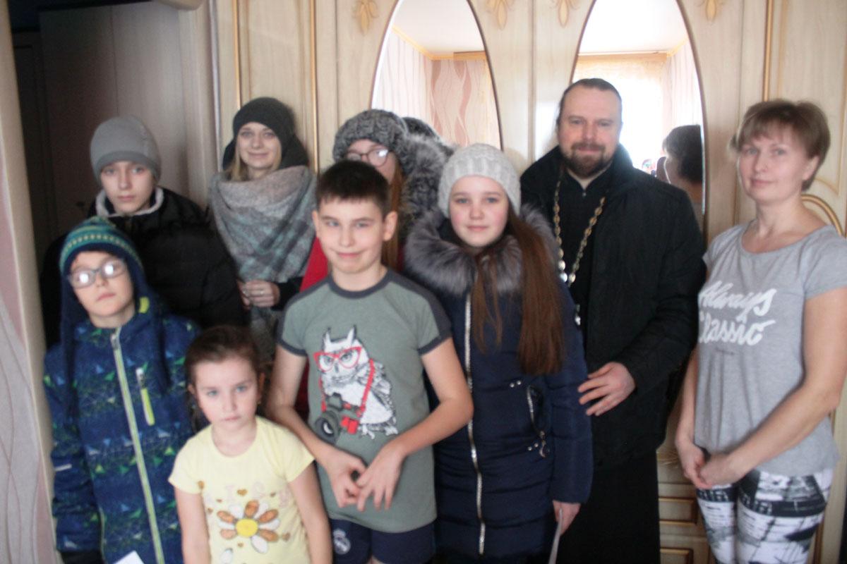 Рождественская акция молодёжного отдела Белевской епархии