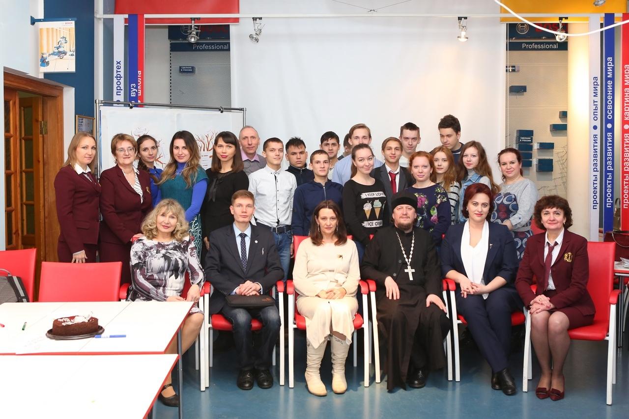 В Ульяновском многопрофильном техникуме прошел областной агитпоезд «За здоровый образ жизни, здоровую и счастливую семью!».