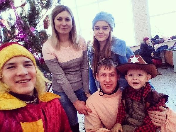 Православные добровольцы Новоспасского благочиния Симбирской епархии провели несколько Рождественских акций