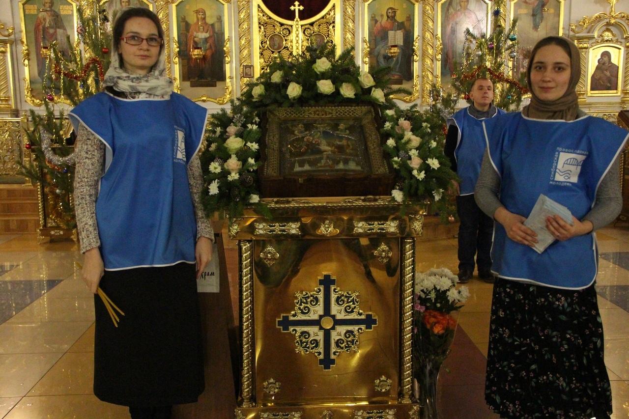 Православная молодежь Симбирской епархии приняла участие в Рождественском богослужении в кафедральном соборе города