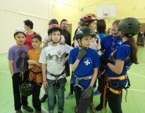 Ребята из Московского отделения Братства Православных следопытов приняли участие в областных соревнованиях по спортивному туризму «Торжок-2019»