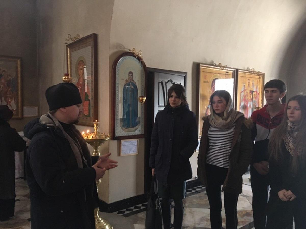 Встреча духовенства Армавирской епархии с молодежью