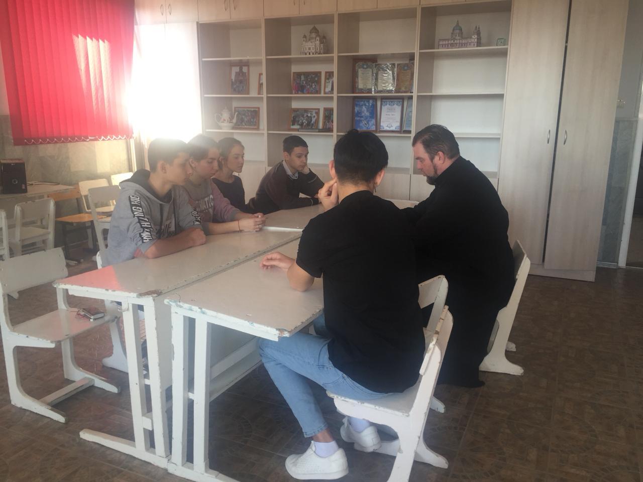 Встреча с молодежью в Абинском благочинии