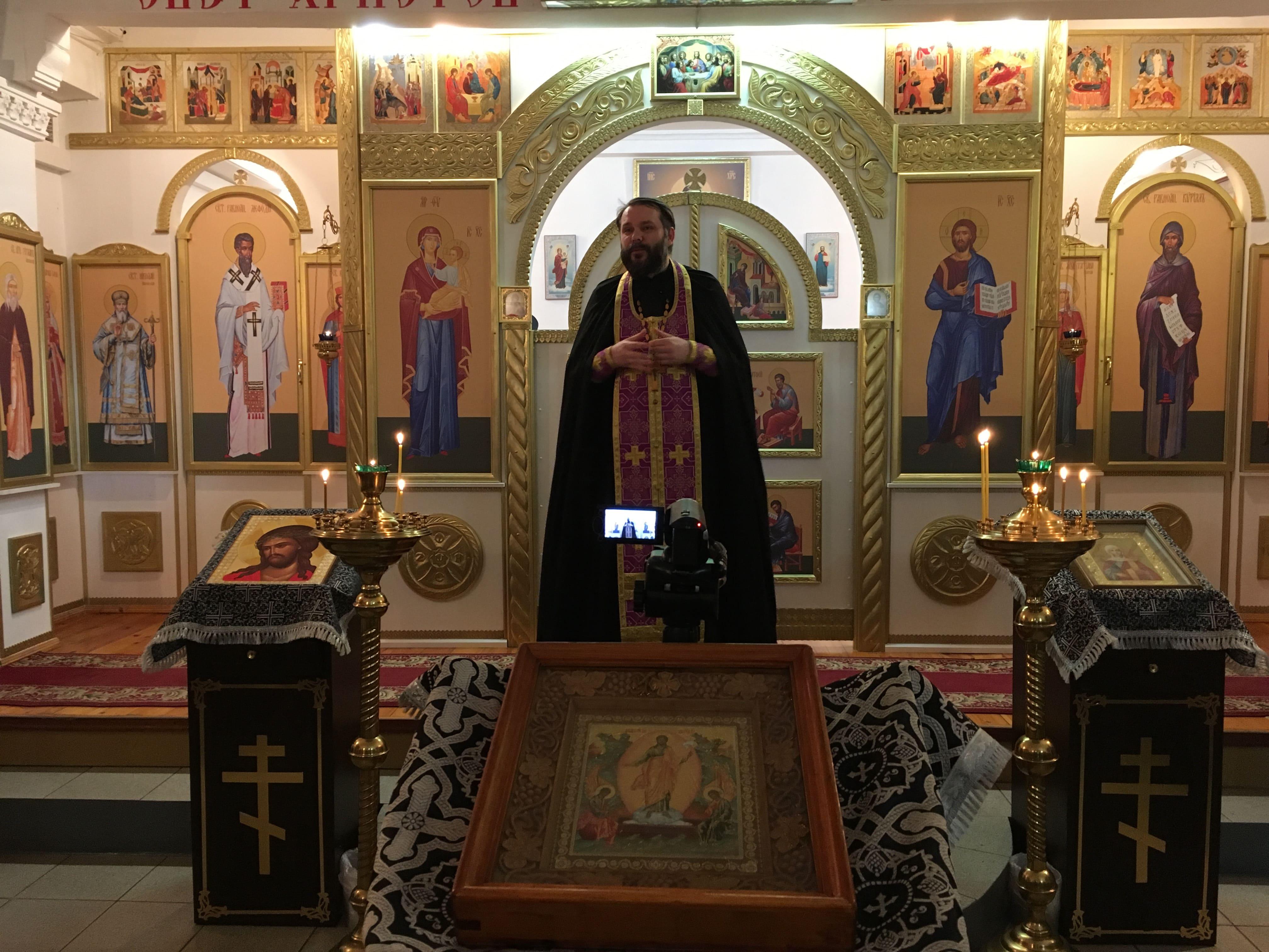 Самарская епархия: миссионерское богослужение