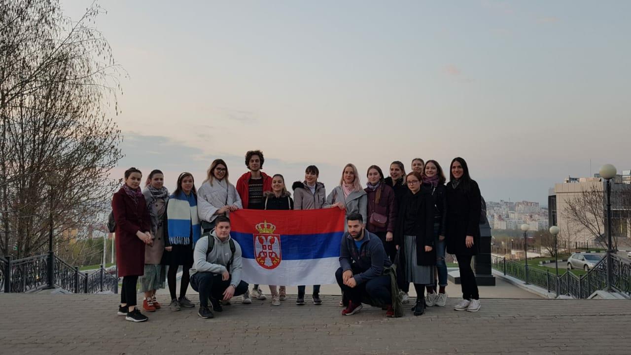 С 18 по 21 апреля состоялся визит молодежной группы клуба «ПСТГУ-Сербия» в Белгород
