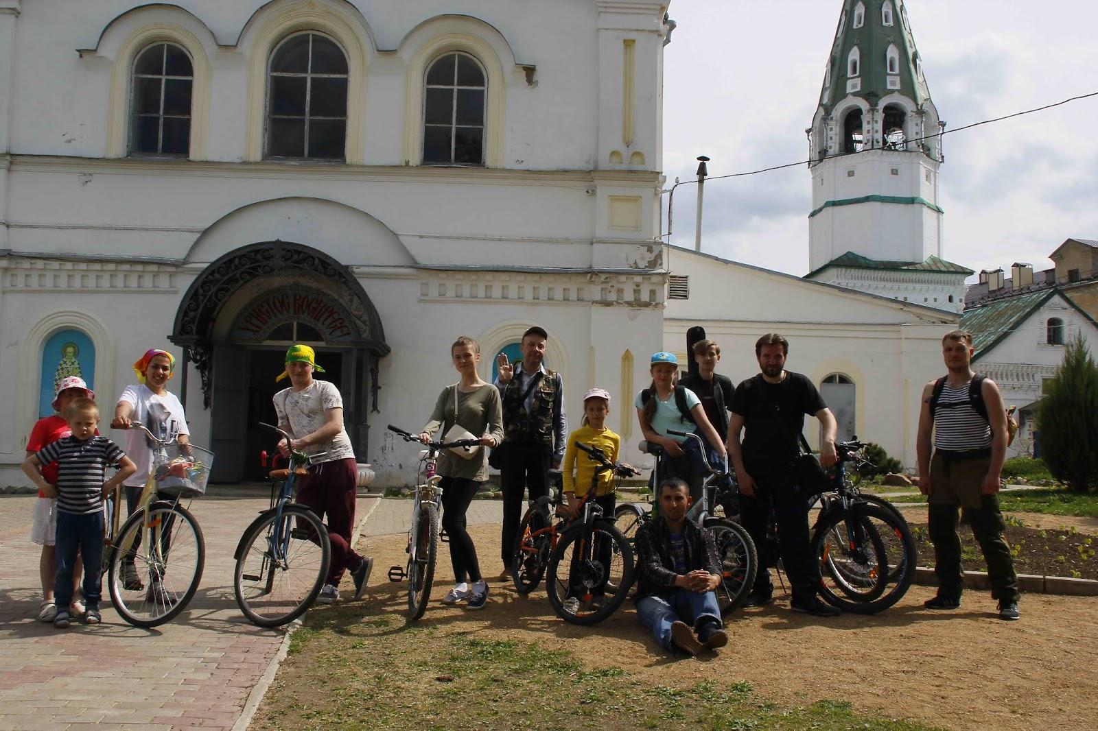 12 мая в Шуйской епархии прошёл традиционный велопоход