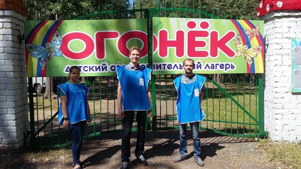 Симбирская православная молодежь помогла подготовить детский лагерь для православной смены.