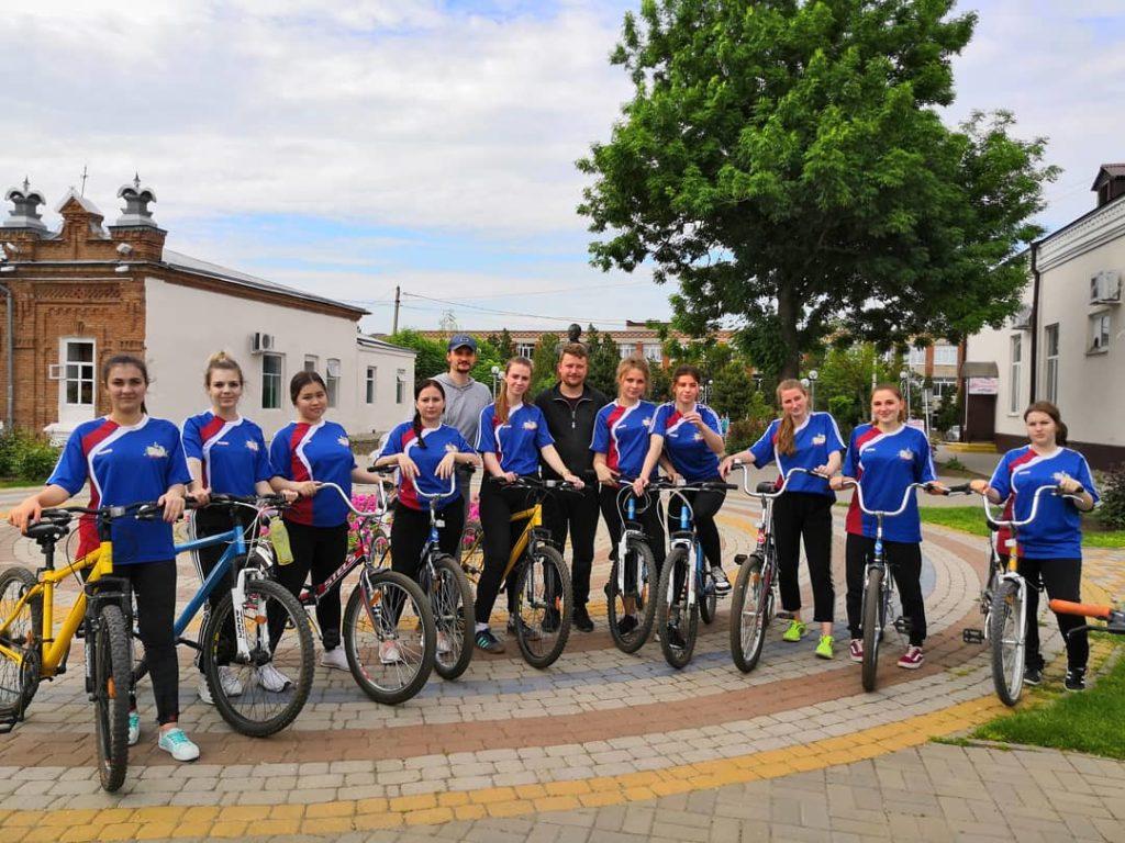 Молодёжь Уманского благочиния посвятила очередной велопробег годовщине победы в Великой Отечественной войне