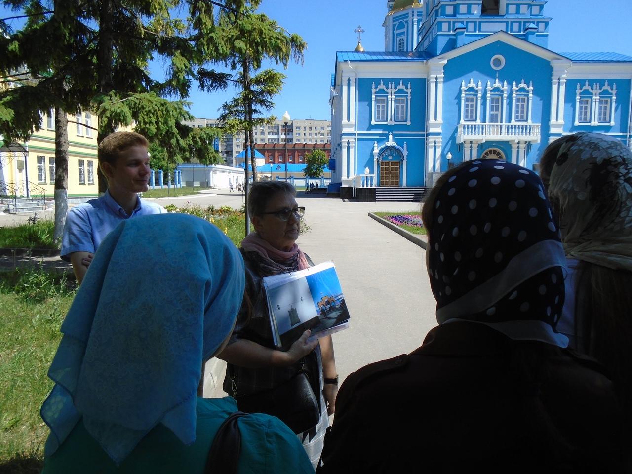 В Симбирской епархии прошла экскурсия для участников православных молодежных объединений.
